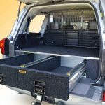 200 Series VX Landcruiser EcoLite 1000 twin drawers.