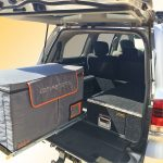 fs-2.25 fridge slide fitted to 200 series landcruiser