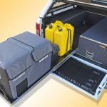 fs-3.5 slide fitted to EAC-1L trade height drawer system in a PX Ranger