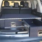 nissan y62 patrol alloy twin drawers open