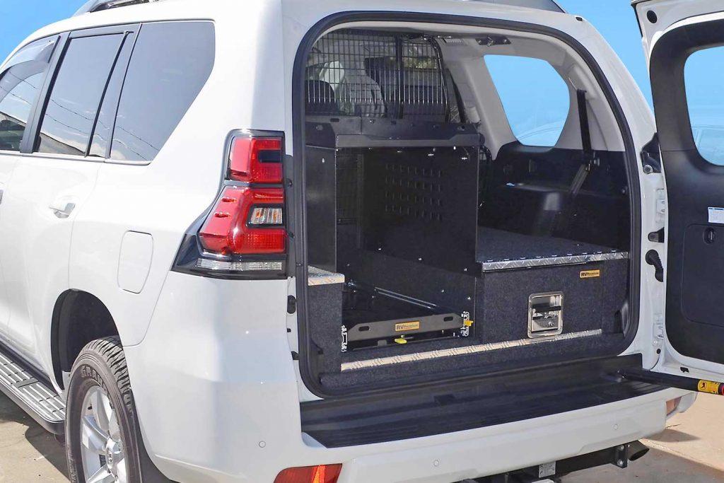 cargo shelf 1 fitted to prado 150