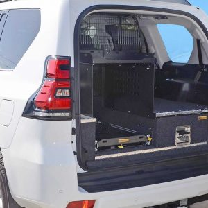 cargo shelf 1 fitted to prado 150