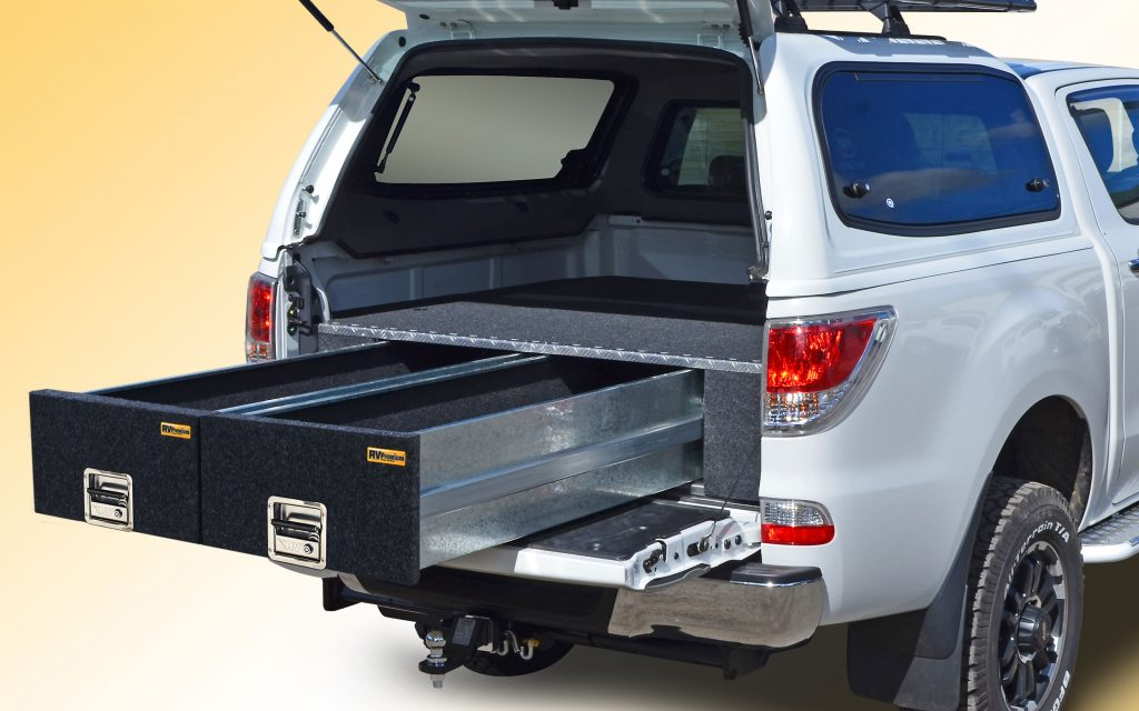 mazda bt50 ute with trade height drawers-crop