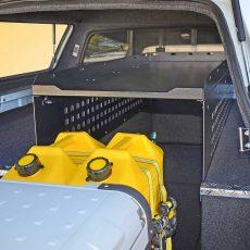 colorado EAC1 with CS1400 cargo shelf