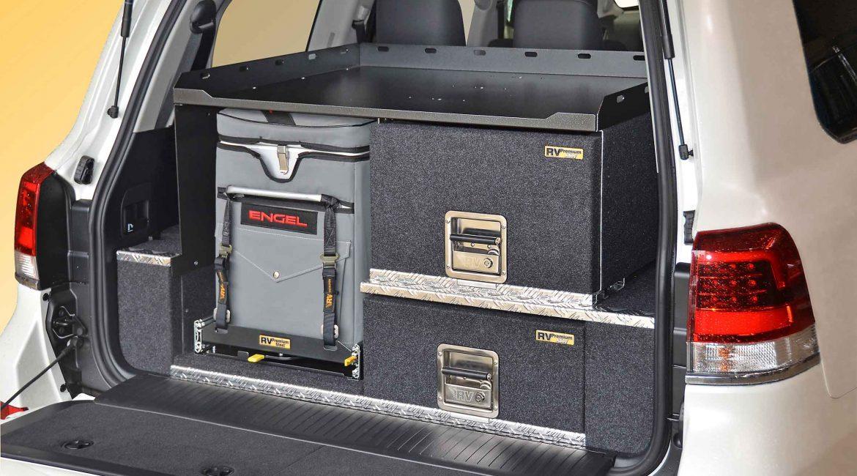 200 Series Landcruiser EAC-2 drawer system
