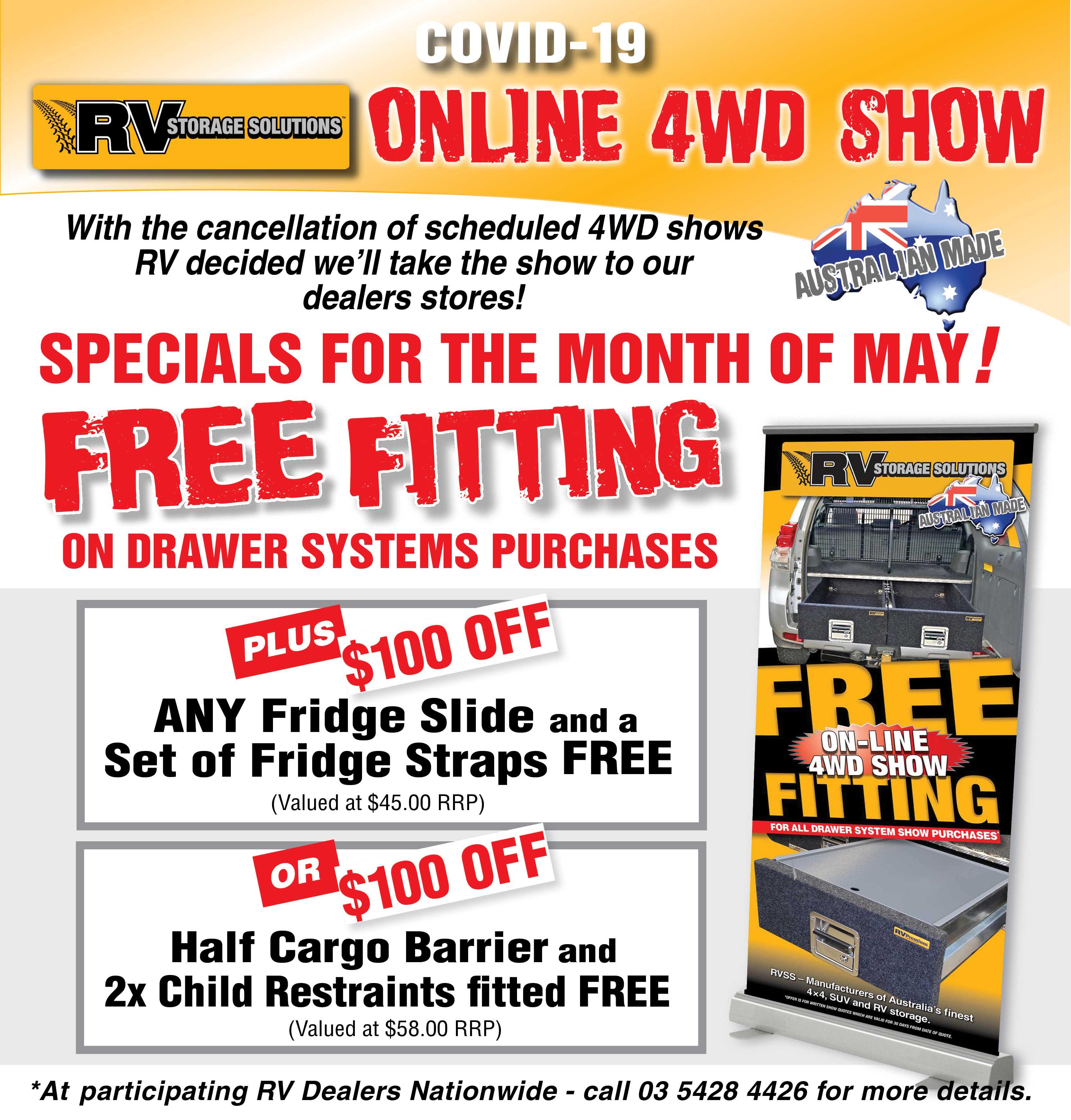 online 4wd show specials