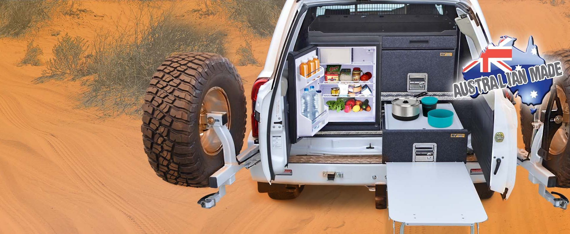 Home Rv Storage Solutions 4wd Drawer Systems